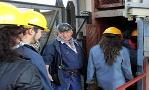 Guided tour of the coal mine